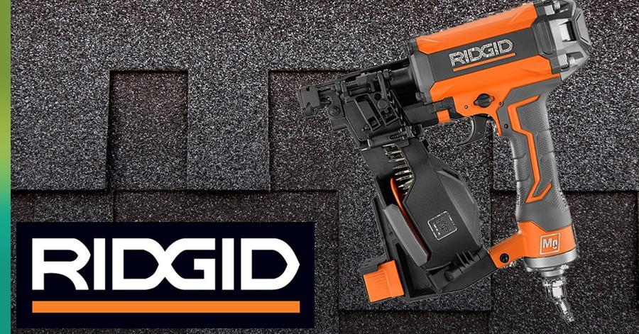ridgid nail gun for roofing