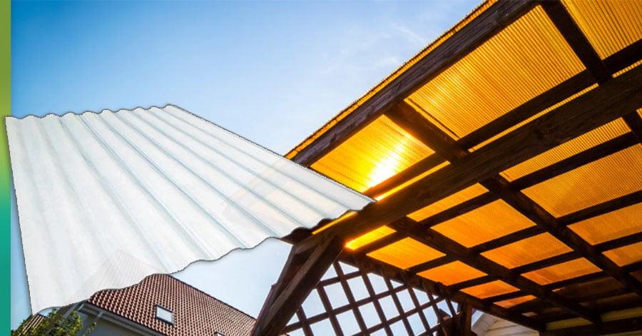 corrugated fiberglass roof panels