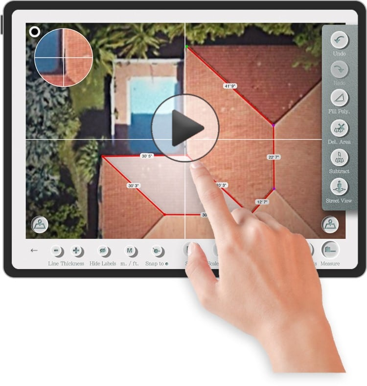 roof measurements software