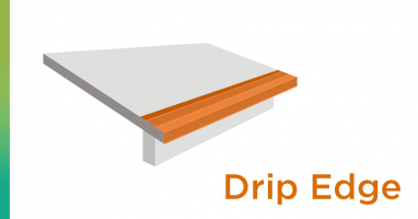 Roofer drip edge